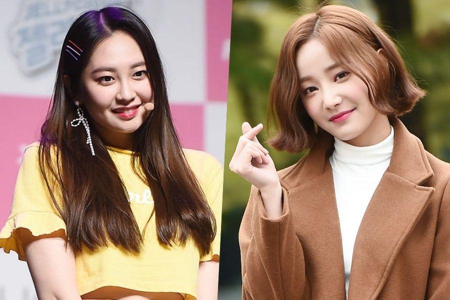Resultado de imagem para Taeha e Yeonwoo (Momoland)