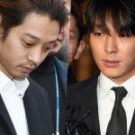 Sentenças de Jung Joon Young e Choi Jong Hoon são reduzidas