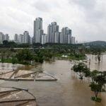 Coreia do Sul enfrenta consequências da maior chuva torrencial em 7 anos