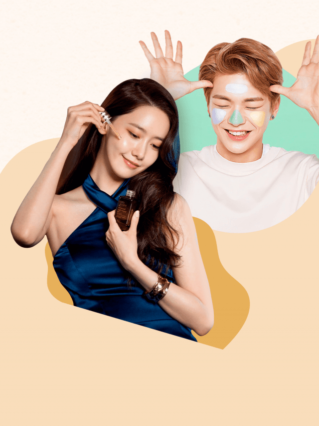 Como K-Idols lidam com a acne?