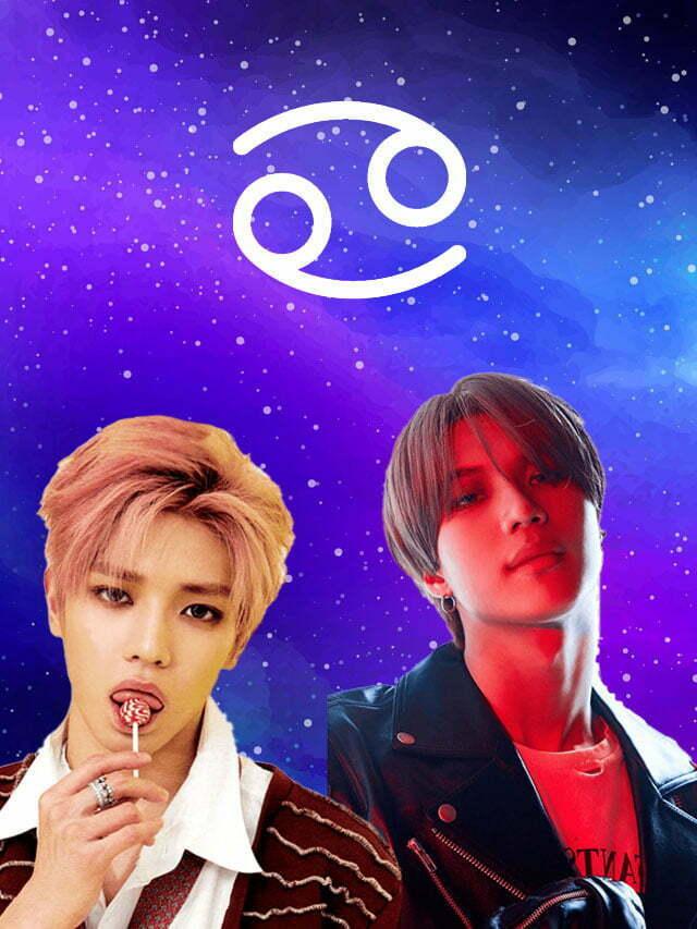 K-idols do signo de Câncer