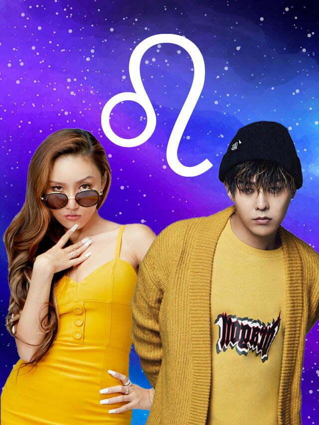 K-idols do signo de Leão