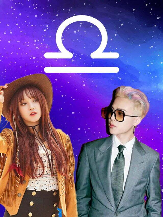 K-idols do signo de Libra